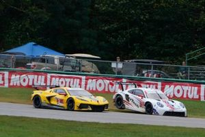 #3: Corvette Racing Corvette C8.R, GTLM: Antonio Garcia, Jordan Taylor, #79: WeatherTech Racing Porsche 911 RSR - 19, GTLM: Cooper MacNeil, Kevin Estre