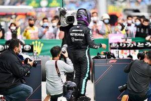 Pole man Lewis Hamilton, Mercedes