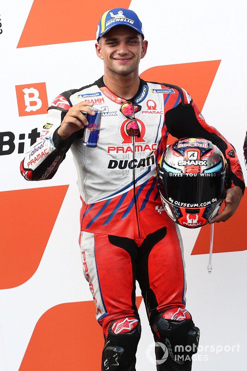 El ganador de la pole Jorge Martín, Pramac Racing