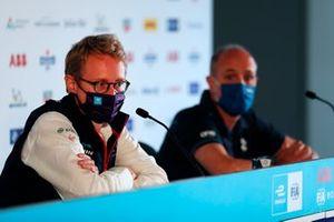 Sylvain Filippi, amministratore delegato, Envision Virgin Racing, Christian Silk, team principal, NIO 333
