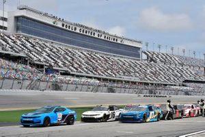 Joe Graf Jr., SS Green Light Racing, Chevrolet Camaro G Coin, A.J. Allmendinger, Kaulig Racing, Chevrolet Camaro Hyperice