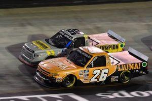 Tyler Ankrum, GMS Racing, Chevrolet Silverado LiUNA!, Grant Enfinger, ThorSport Racing, Toyota Tundra Champion/Curb Records