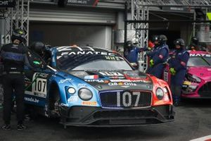 #107 CMR Bentley Continental GT3: Nelson Panciatici, Gilles Vannelet, Stuart White