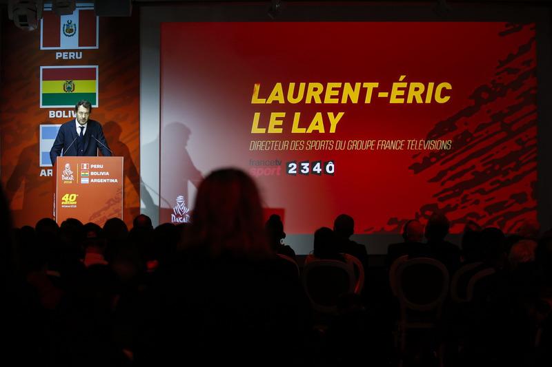 Laurent Eric Le Lay, France Television director de deportes