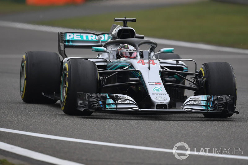 4. Lewis Hamilton, Mercedes-AMG F1 W09 EQ Power