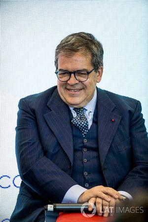 Enzo Bianco, maire de Catania, président de l'ANCI lors de la conférence FIA Smart Cities