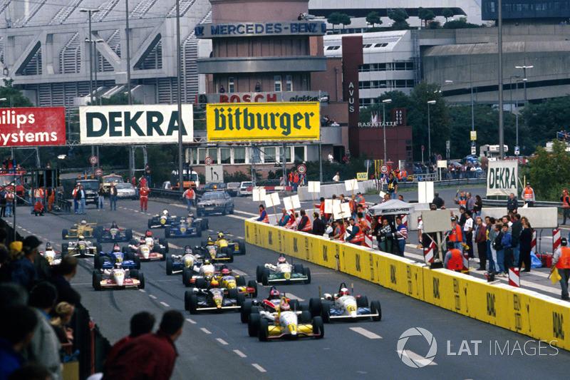 Jos Verstappen, Opel Team WTS Dallara 393-Opel startta lider