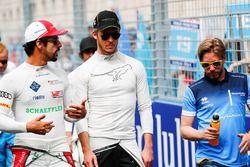 Lucas di Grassi, Audi Sport ABT Schaeffler, Andre Lotterer, Techeetah., Nick Heidfeld, Mahindra Raci