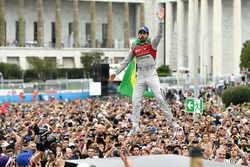 Lucas di Grassi, Audi Sport ABT Schaeffler, places 2nd in the Rome ePrix