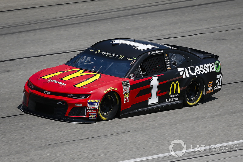 13. Jamie McMurray, Chip Ganassi Racing, Chevrolet Camaro McDonald's/Cessna
