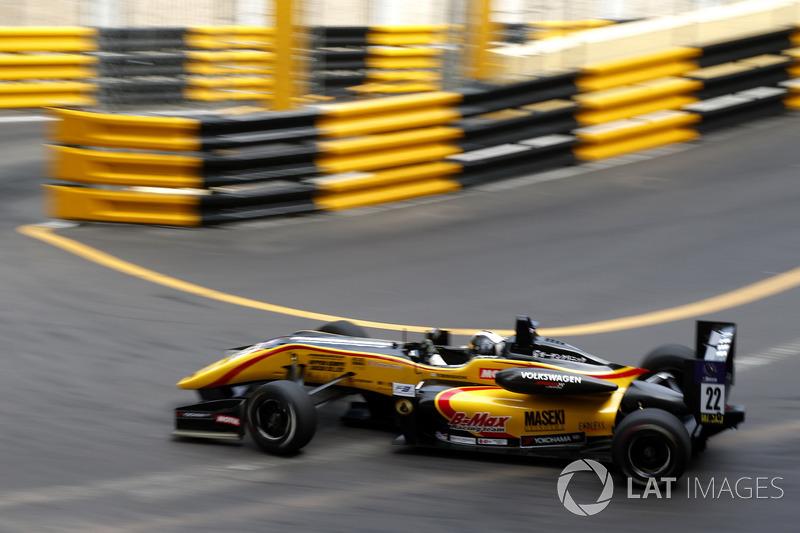 Yuhi Sekiguchi, B-Max Racing Team, Dallara Volkswagen