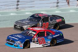 Ty Majeski, Roush Fenway Racing Ford, Christopher Bell, Joe Gibbs Racing Toyota