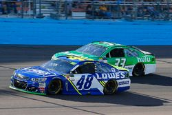 Jimmie Johnson, Hendrick Motorsports Chevrolet, Jeffrey Earnhardt, Circle Sport - The Motorsports Gr