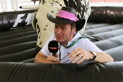 Craig Slater, Sky TV and bucking bronco