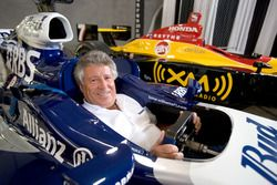 Mario Andretti in a Williams F1 car