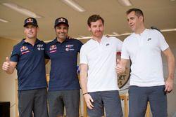 Нассер Аль-Аттия и Матье Бомель, Toyota Gazoo Racing, Андре Виллаш-Боаш и Рубен Фариа