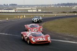 Lorenzo Bandini, Chris Amon,  Ferrari 330P4 Spyder