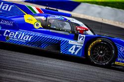 #47 Cetilar Villorba Corse Dallara P217 - Gibson: Roberto Lacorte, Giorgio Sernagiotto, Felipe Nasr
