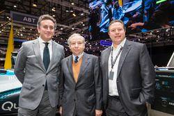 Алехандро Агаг, президент FIA Жан Тодт и исполнительный директор McLaren Зак Браун