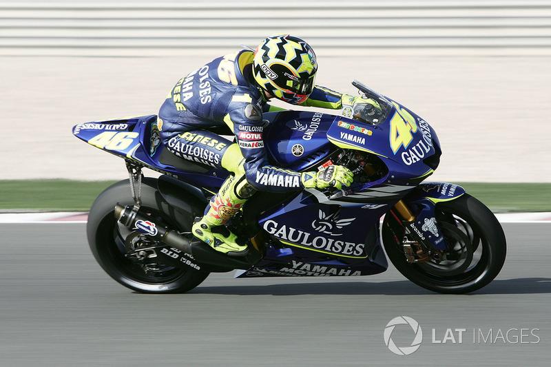 2005: Valentino Rossi, Gauloises Yamaha