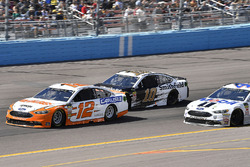Ryan Blaney, Team Penske, Ford Fusion Devilbiss, Aric Almirola, Stewart-Haas Racing, Ford Fusion Smithfield, Kurt Busch, Stewart-Haas Racing, Ford Fusion Mobil 1/Haas Automation
