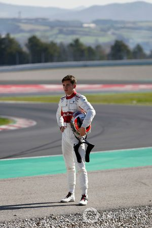 Charles Leclerc, Alfa Romeo Sauber F1 Team walks in after crashing