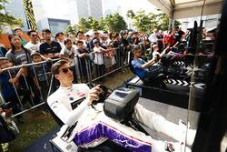 Alex Lynn, DS Virgin Racing, en la eRace