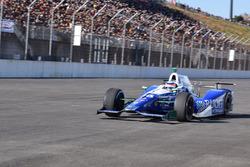 Takuma Sato in his Indy 500 winning Andretti Autosport Honda