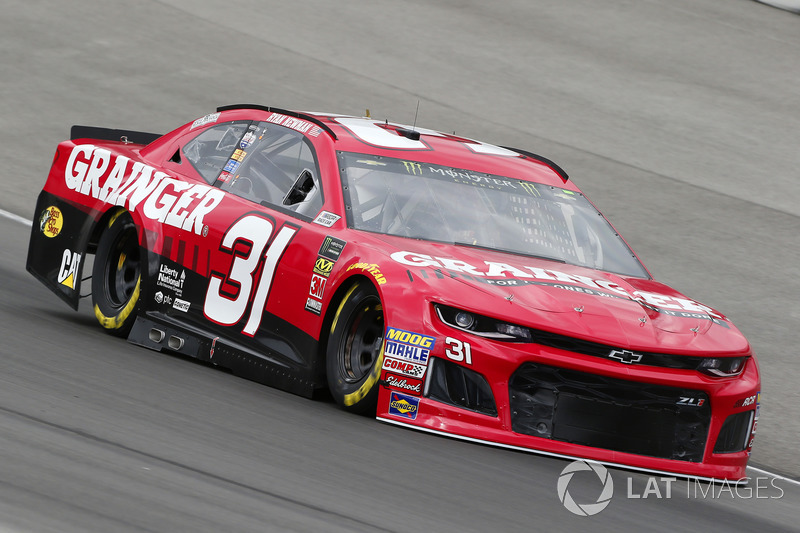 25. Ryan Newman, No. 31 Richard Childress Racing Chevrolet Camaro