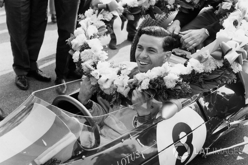 Jim Clark - Two titles (1963, 1965)