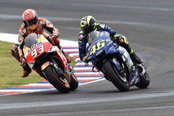 Столкновение: Марк Маркес, Repsol Honda Team, Валентино Росси, Yamaha Factory Racing