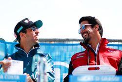 Antonio Felix da Costa, Andretti Formula E Team, et Lucas di Grassi, Audi Sport ABT Schaeffler