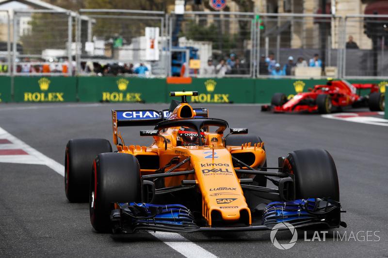 9. Stoffel Vandoorne, McLaren MCL33 Renault