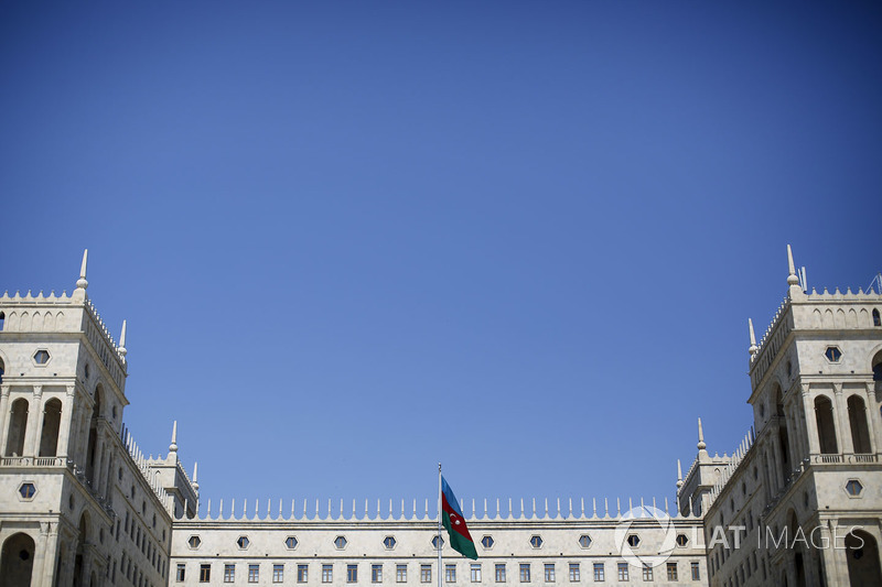 Baku flag