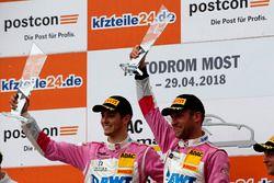 Podium: 1. #26 BWT Mücke Motorsport Audi R8 LMS: Jeffrey Schmidt, Stefan Mücke