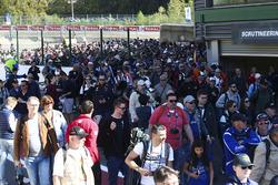 WEC Spa Francorchamps pit walk