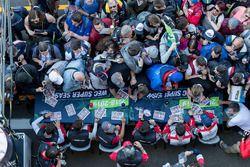 Andre Lotterer, Neel Jani, Bruno Senna, Mathias Beche, Gustavo Menezes, Thomas Laurent, Rebellion Racing