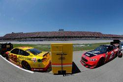 Joey Logano, Team Penske, Ford Fusion Shell Pennzoil Brad Keselowski, Team Penske, Ford Fusion Snap on