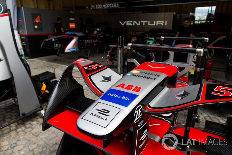 Garage of Maro Engel, Venturi Formula E Team