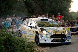 Francesco Rizzello, Monica Cicognini, Ford Fiesta WRC, Salento Motori