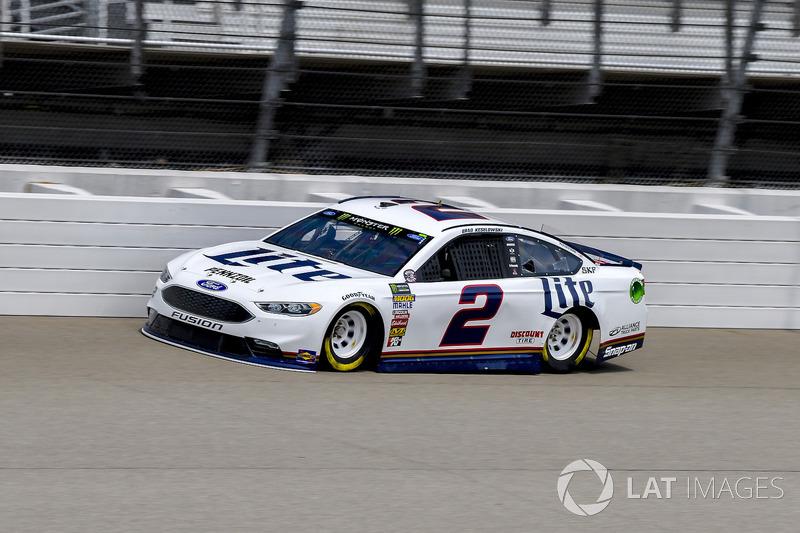 2. Brad Keselowski, Team Penske, Ford Fusion Miller Lite