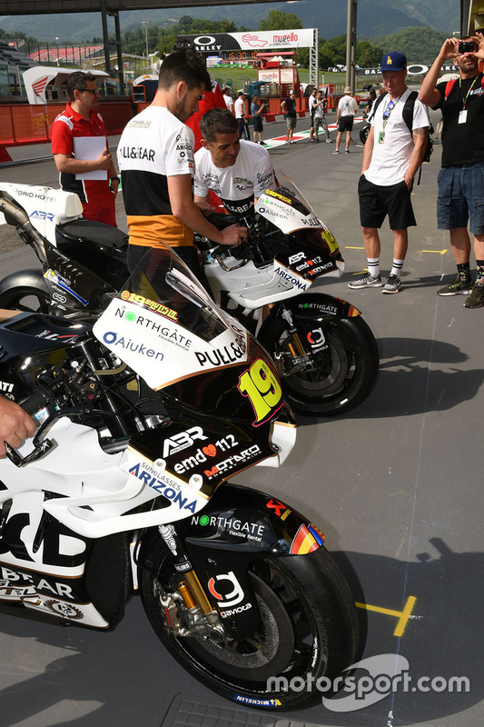 Aspar Racing bikes