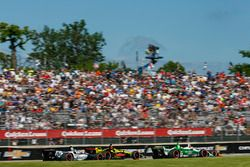 Spencer Pigot, Ed Carpenter Racing Chevrolet, Sébastien Bourdais, Dale Coyne Racing with Vasser-Sullivan Honda, Max Chilton, Carlin Chevrolet