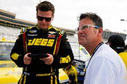 Cody Coughlin, GMS Racing, Jeg's.com Chevrolet Silverado and dad John Coughlin