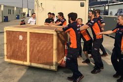 Marc Marquez, Repsol Honda Team gets a birthday present from his team