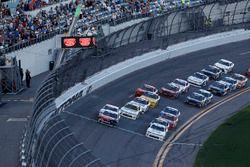 Ryan Reed, Roush Fenway Racing, Drive Down A1C Lilly Diabetes Ford Mustang, Tyler Reddick, JR Motors