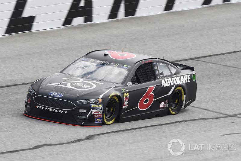 20. Trevor Bayne, No. 6 Roush Fenway Racing Ford Fusion