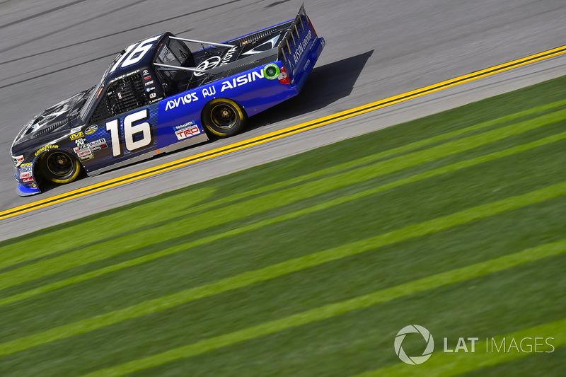 Brett Moffitt, Hattori Racing Enterprises, AISIN GROUP Toyota Tundra