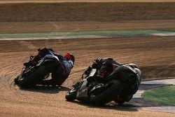 Maverick Vinales and Scott Redding, Aprilia Racing Team Gresini