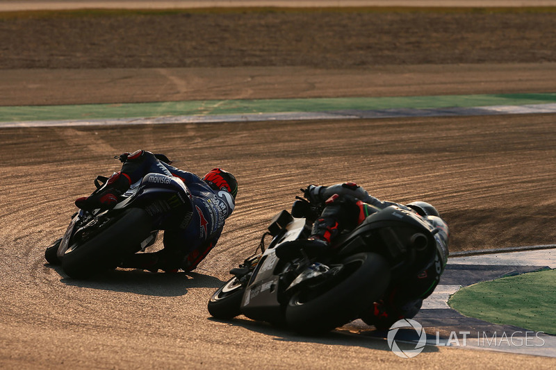 Maverick Vinales y Scott Redding, Aprilia Racing Team Gresini